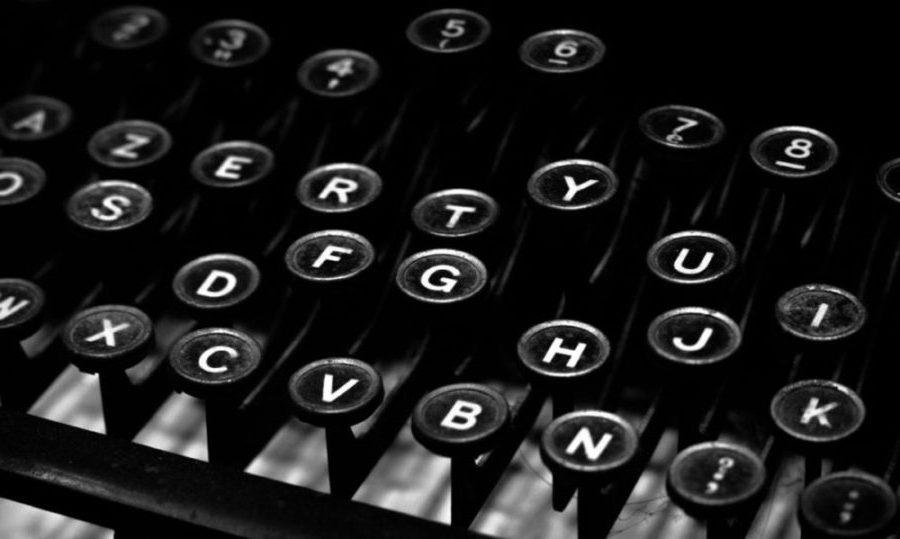 Picture of typewriter keys